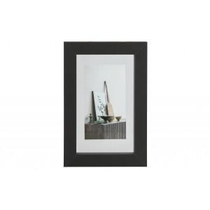 Medinis nuotraukos rėmelis Blake, 30x20 cm (juoda)