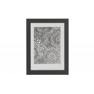 Medinis nuotraukos rėmelis Blake, 40x30 cm (juoda)