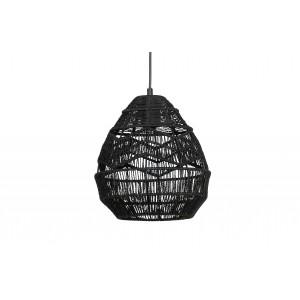 Pakabinamas šviestuvas Adelaide, 25 cm skersm. (juoda)