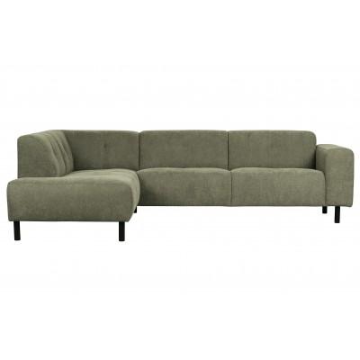 Kampinė sofa Presley, kairinė (šviesiai žalsva)