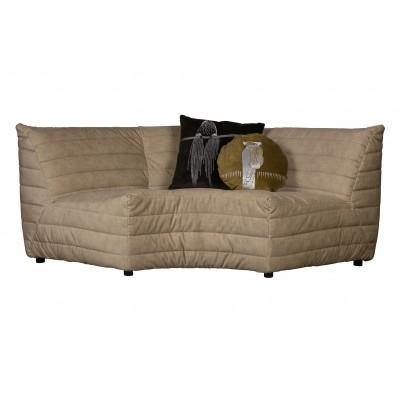 Kampinė modulinė sofa Bag, velvetas (smėlio)