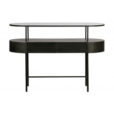 Konsolinis staliukas Imani, metalas (alyvuogių žalia)
