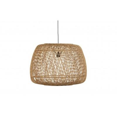 Pakabinamas šviestuvas Moza, 70x70 cm, bambukas (natūrali)