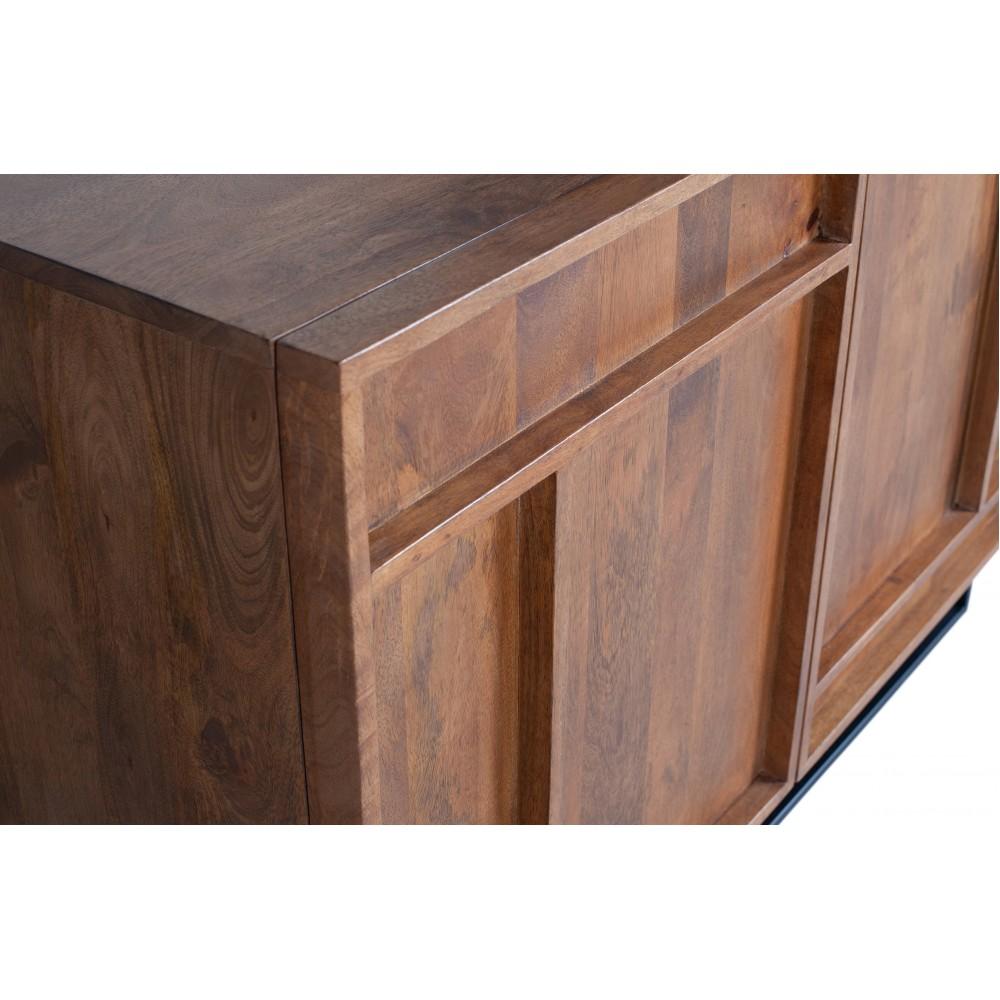 2 durų komoda Forrest su stalčiais (natūrali)
