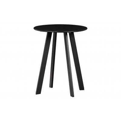 Kavos staliukas Fer, 40 cm skersm., metalas (juoda)