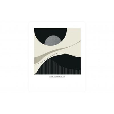 Plakatas Complex Simplicity, 30x40 cm