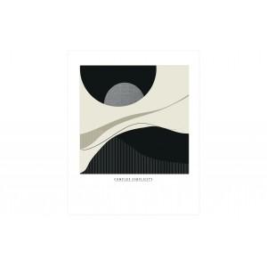 Plakatas Complex Simplicity, 50x70 cm