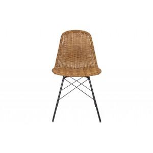 Kėdė Spun (natūralios spalvos) (2 dalių komplektas)