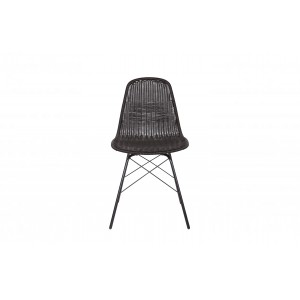 Kėdė Spun (juoda) (2 dalių komplektas)