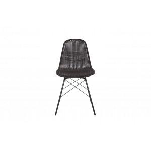 Kėdė Spun (juoda), 2 vnt.