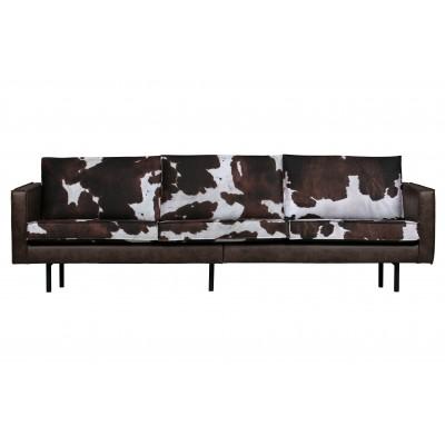 Trivietė sofa Rodeo, karvės odos