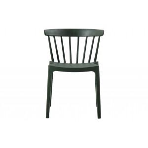 Plastikinė kėdė Bliss (rusvai žalia), 2 vnt.