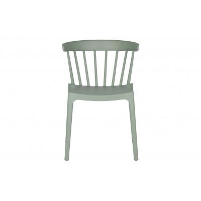 Plastikinė kėdė Bliss (nefrito žalia), 2 vnt.