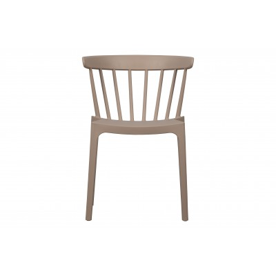 Kėdė Bliss, plastikas (pudros spalva), 2 vnt.