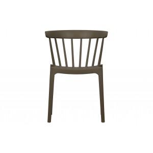 Kėdė Bliss, plastikas (rusvai žalsva), 2 vnt.