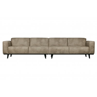 Keturvietė sofa Statement XL, 372 cm (dramblio odos)