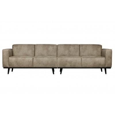 Keturvietė sofa Statement, 280 cm (dramblio odos)