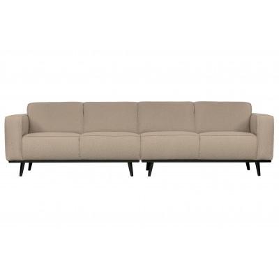 Keturvietė sofa Statement, 280 cm, boucle audinys (smėlio)