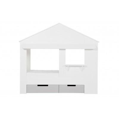 Stalčiai lovai Huisie, pušis (balta) (2 dalių komplektas)