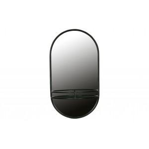 Kosmetinis veidrodis, metalas (juoda)