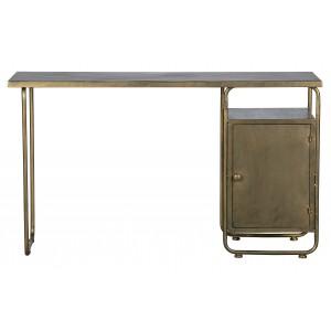 Rašomasis stalas Veteran, metalas (sendinto žalvario spalvos)