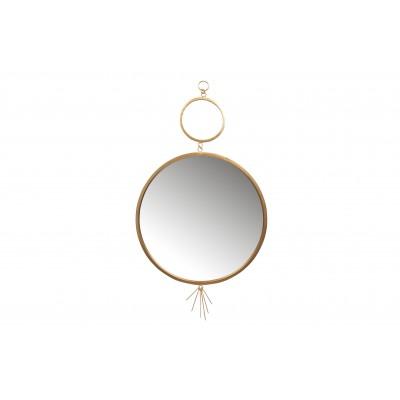 Metalinis veidrodis Tail (sendinto žalvario spalvos)