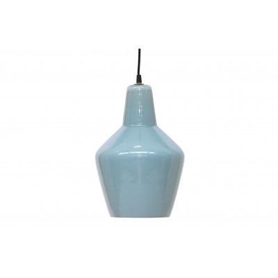 Pakabinamas šviestuvas Pottery, stiklas (melsvai pilka)