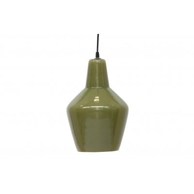 Pakabinamas šviestuvas Pottery, stiklas (žalia)