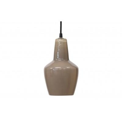 Pakabinamas šviestuvas Pottery, stiklas (pilkšvai ruda)