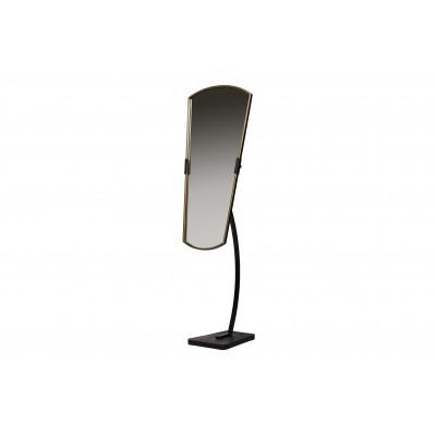 Veidrodis Arrogant, metalas (juodos / sendinto žalvario)