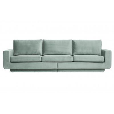 Trivietė sofa Fame, velvetas (mėtų)