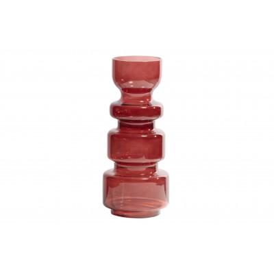 Stiklinė vaza Expressive, 37x15 cm skersm. (kaštoninė)