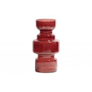 Stiklinė vaza Expressive,  30x15 cm skersm. (kaštoninė)