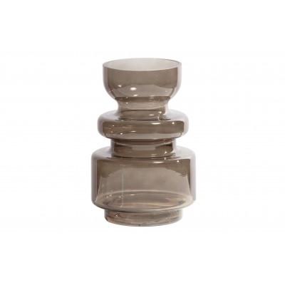 Stiklinė vaza Expressive, 24x15 cm skersm. (kavos atspalvio)