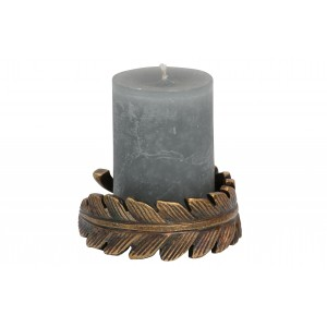 Žvakidė Clasp, metalas (bronzos)