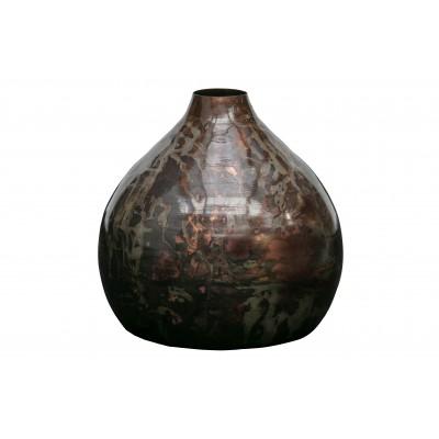 Metalinė vaza Sludge, 32 cm skersm. (juoda)