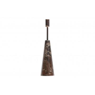 Metalinė juoda žvakidė Shrill, 35 cm