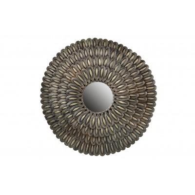 Metalinis veidrodis Husk (sendinto žalvario)