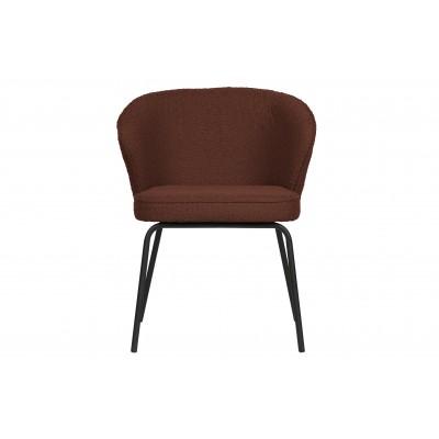 Valgomojo kėdė Admit, boucle audinys (kaštono atspalvio), 2 vnt.