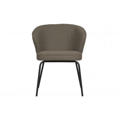 Valgomojo kėdė Admit, boucle audinys (pilkšvai ruda), 2 vnt.