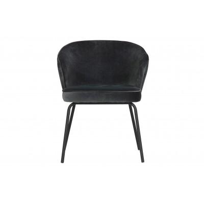 Valgomojo kėdė Admit, velvetas (plieno mėlyna), 2 vnt.