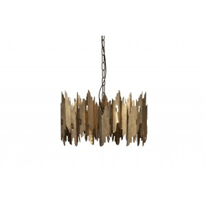 Pakabinamas šviestuvas Crown, metalas (sendinto žalvario spalvos)