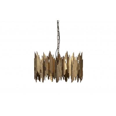 Pakabinamas šviestuvas Crown, metalas (sendinto žalvario)