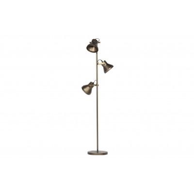 Pastatomas šviestuvas Triplet (sendinto žalvario)