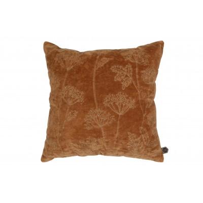 Pagalvėlė Hogweed, 50x50 cm, velvetas (ruda)
