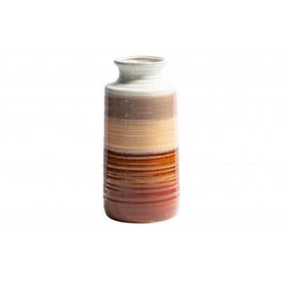 Keraminė vaza Decennia, 30x14 cm skersm. (kaštoninė)