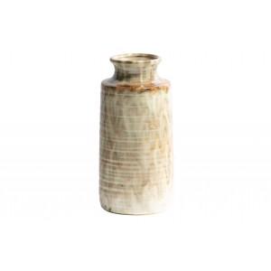 Keraminė vaza Decennia, 30x14 cm skersm. (pilkšvai ruda)