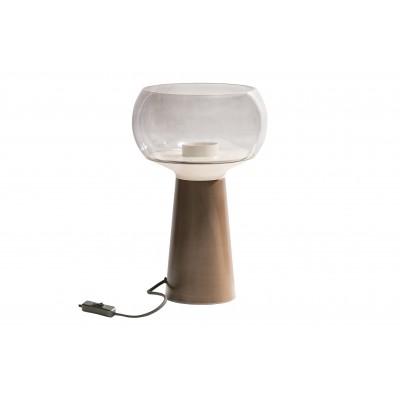 Stalinis šviestuvas Mushroom, 37x24 cm skersm. (kavos atspalvio)