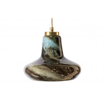 Pakabinamas šviestuvas Cup, stiklas, 23 cm skersm.