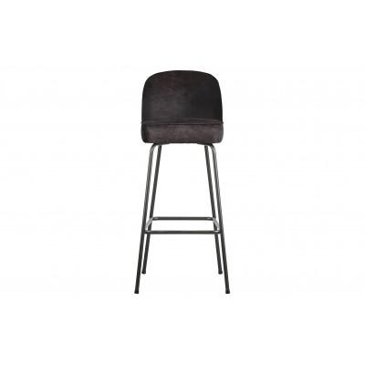 Baro kėdė Vogue, 80 cm, odinė (juoda)